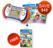 Buy MobiGo 2 Bundle and receive FREE Learning Software