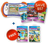 Buy MobiGo 2 Bundle and receive 2 Learning Software for FREE