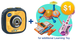 Pay $1 extra to get an additional Learning Toy