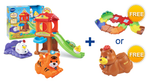 Buy the Chicken Coop Playset and an Animal, receive 1 FREE Gift of your choice!