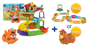 Buy the Tree House Hideaway Playset and Animal, receive 1 FREE Gift of your choice!