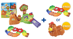 Buy the Forest Adventure Playset and a Junior Track Set, receive 1 FREE Gift of your choice!