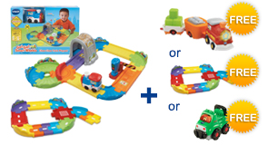 Buy the Choo-Choo Train Playset and Junior Track Set, receive a FREE Gift of your choice!