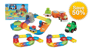 Save 50% with the Choo-Choo Train Playset build your own bundle
