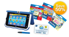 Save 50% with the InnoTab MAX build your own bundle