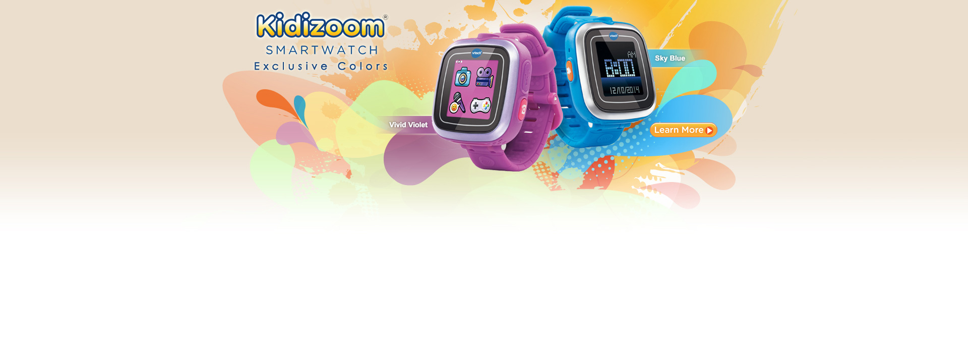Kidizoom Smartwatch - Exclusive Colors