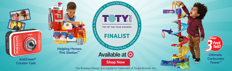Target: Toy of the Year: Creator Cam, Fire Station & Tower