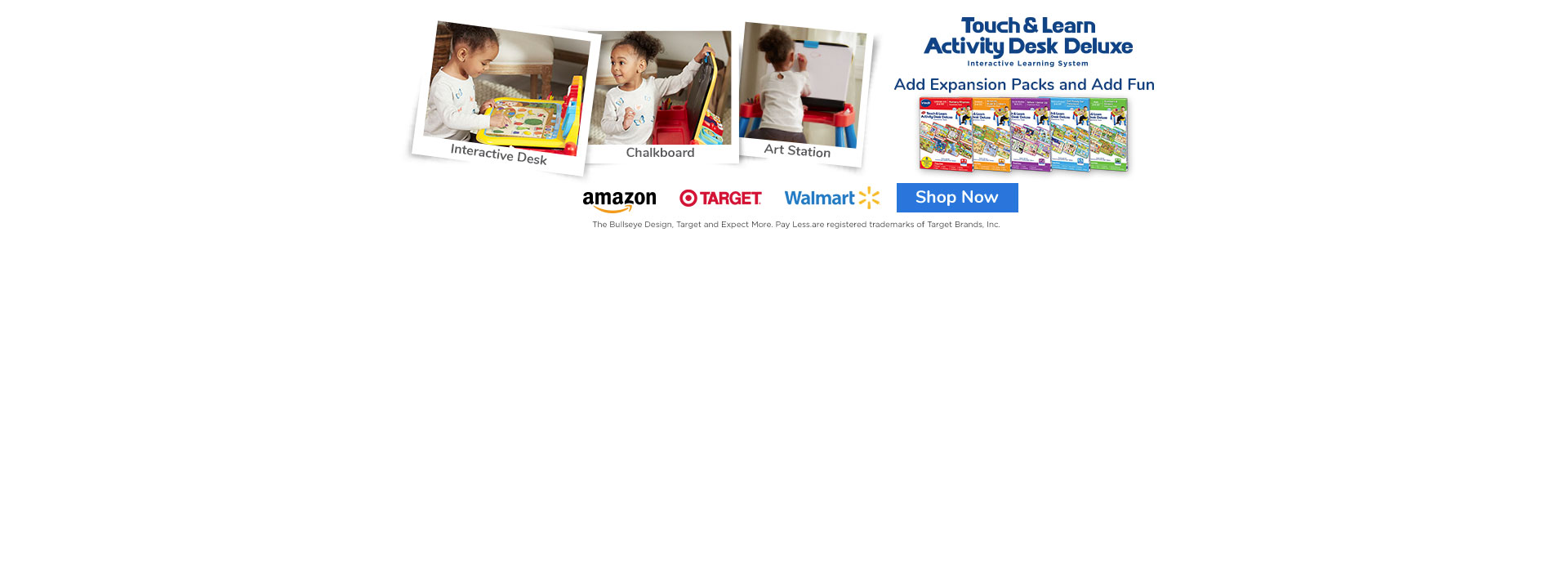 Touch and Learn Activity Desk Deluxe | Shop Now