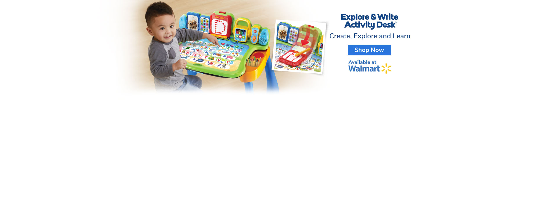 Explore and Write Desk at Walmart