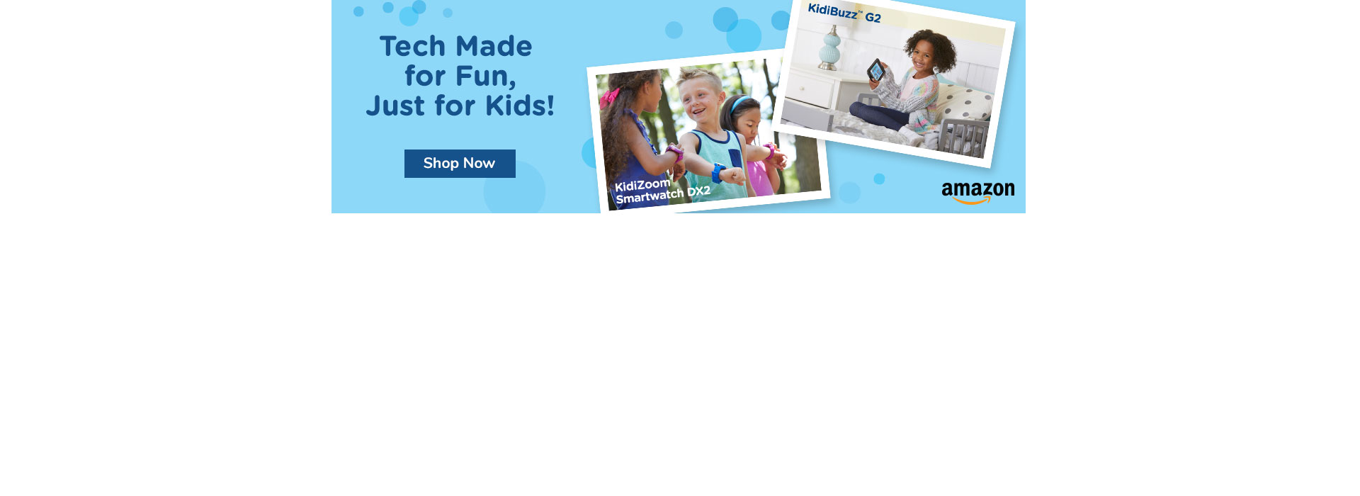 Amazon Gift-Giving with tech just for kids