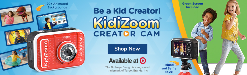 KidiZoom Creator Cam Available at Target