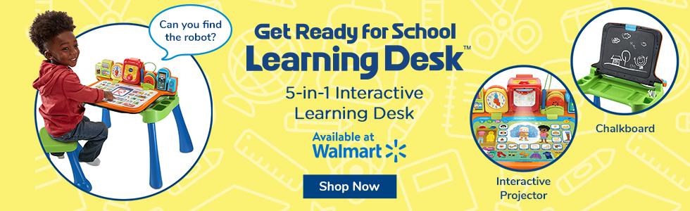 Walmart: Get Ready for School Learning Desk