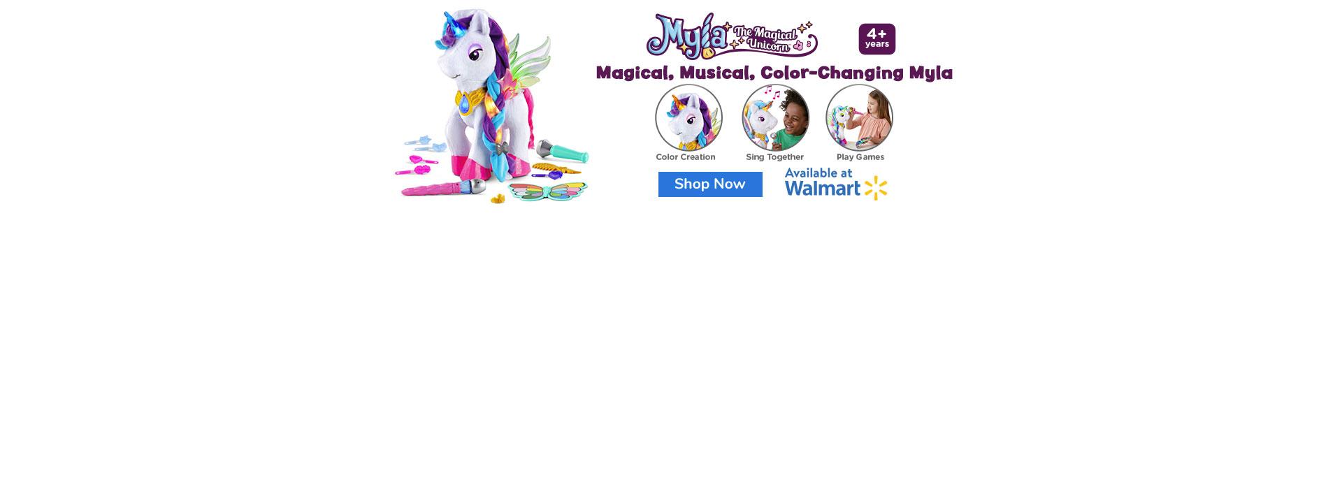 Myla at Walmart