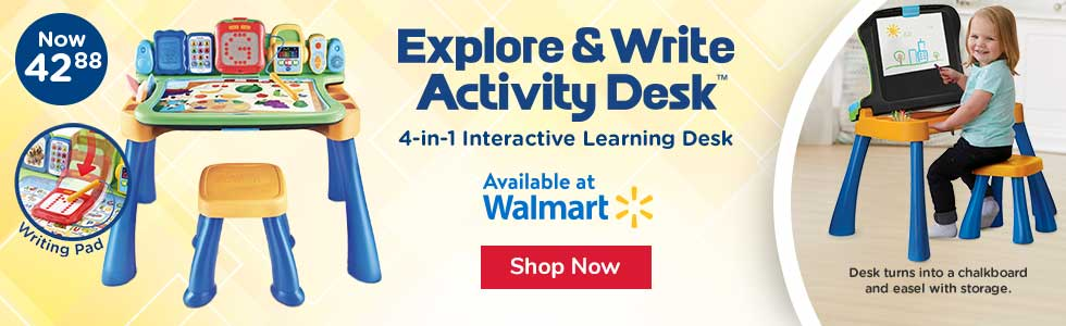 Explore & Write Activity Desk at Walmart