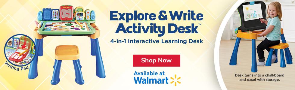 Explore & Write Activity Desk at Walmart
