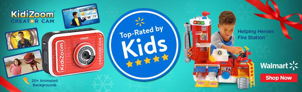 Walmart: Top rated by Walmart - Creator Cam and Fire Truck
