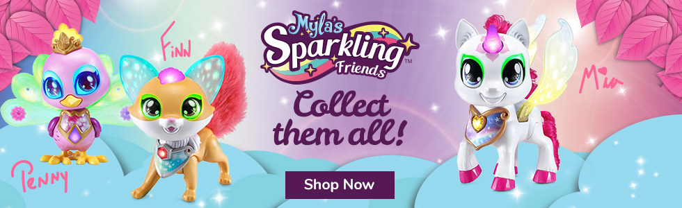Mylas Sparkling Friends - New Buy Now at Walmart