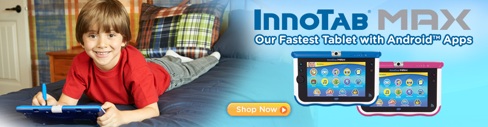 InnoTab Max - Our Fastest Tablet with Android™ Apps