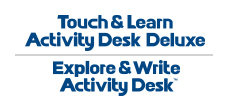 Touch & Learn Activity Desk Deluxe - brand logo