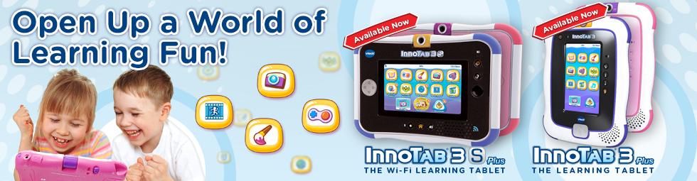 InnoTab 3 Plus and InnoTab 3S Plus