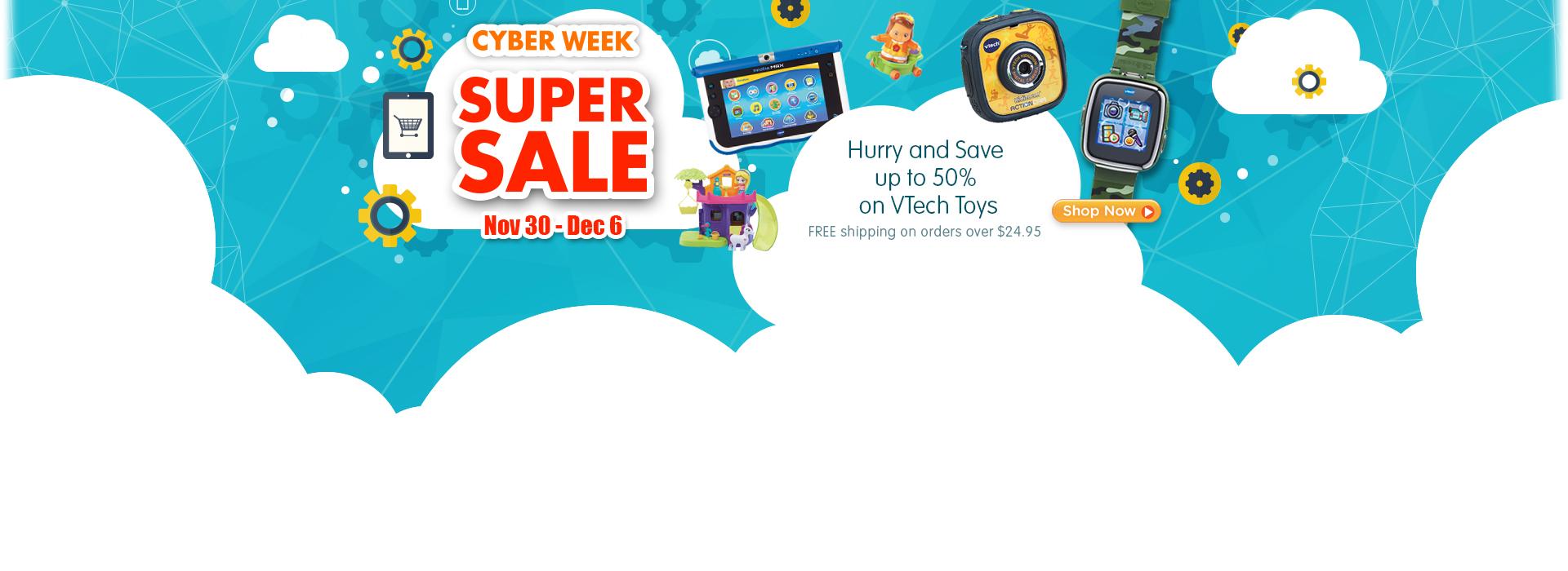 Cyber Week Super Sale