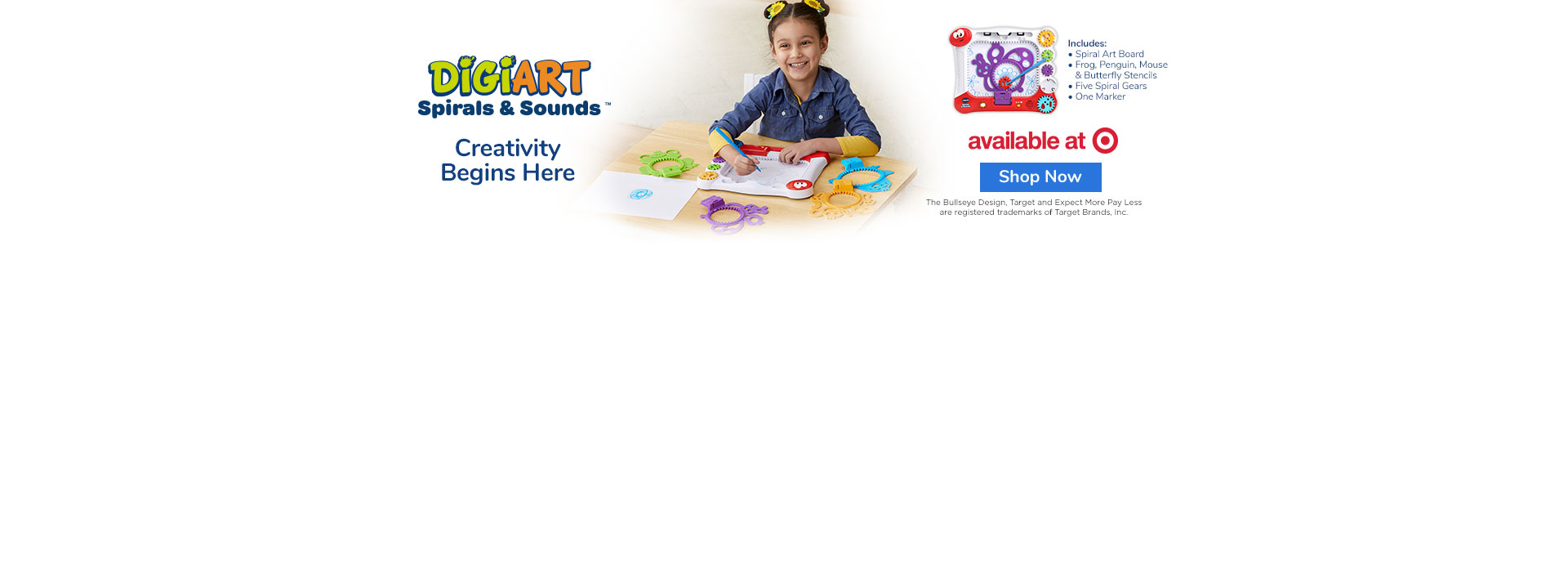 NEW! DigiArt Spirals & Sounds™ - Buy Now at Target