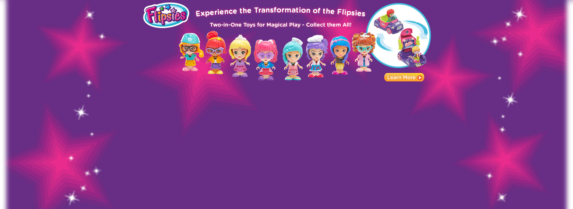 Flipsies - Experience the transformation of the Flipsies