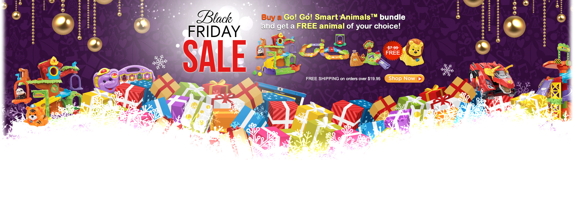 Black Friday Sale - Buy a Go! Go! Smart Animals bundle and get a FREE animal of your choice!