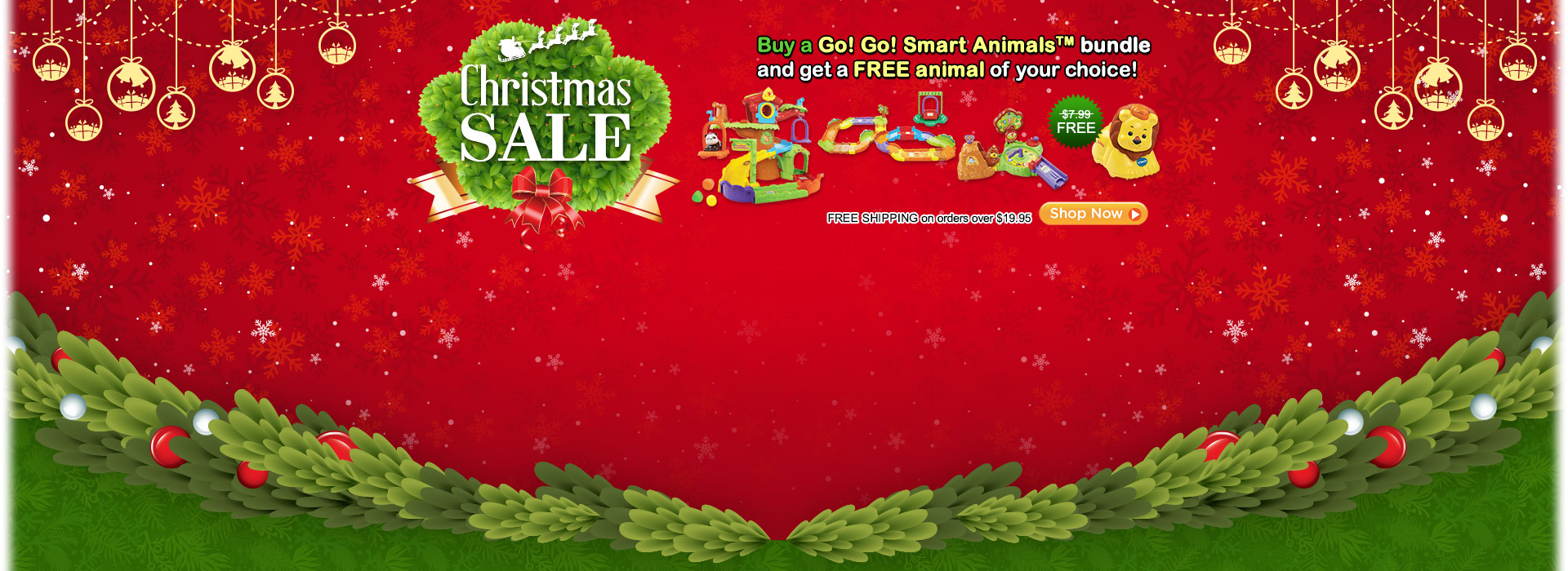 Christmas Sale - Buy a Go! Go! Smart Animals bundle and get a FREE animal of your choice!