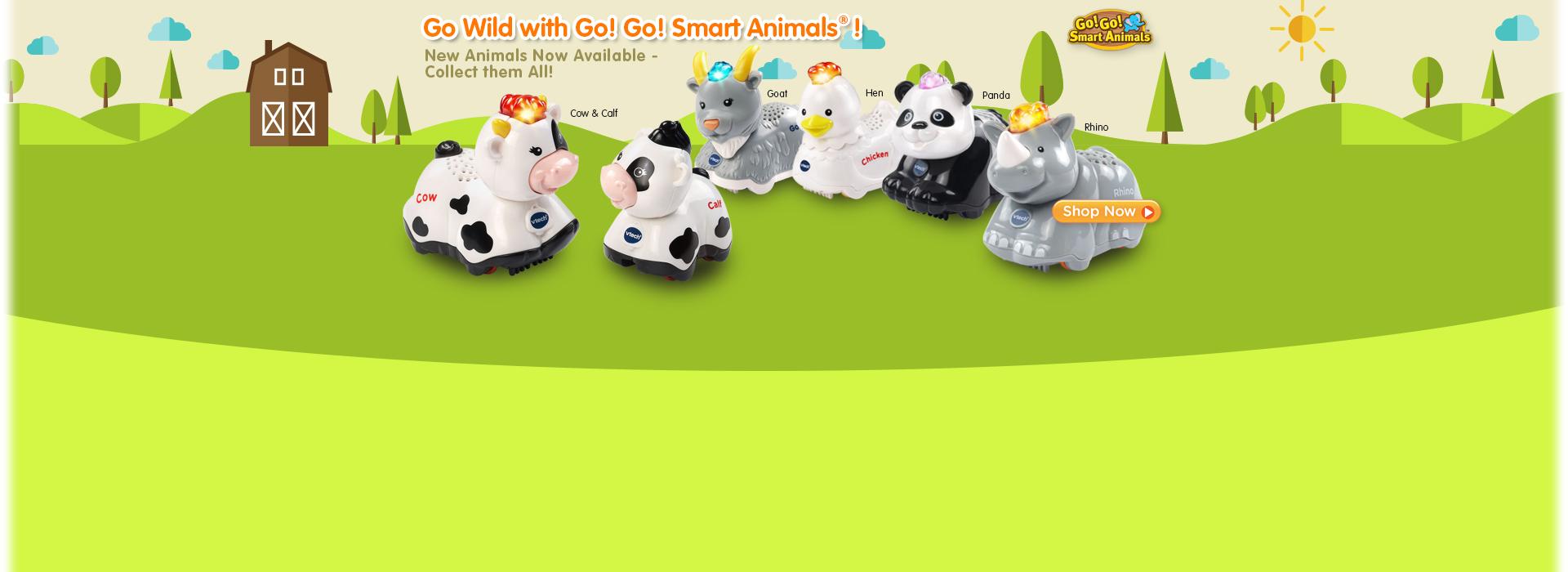 New Go! Go! Smart Animals Available!