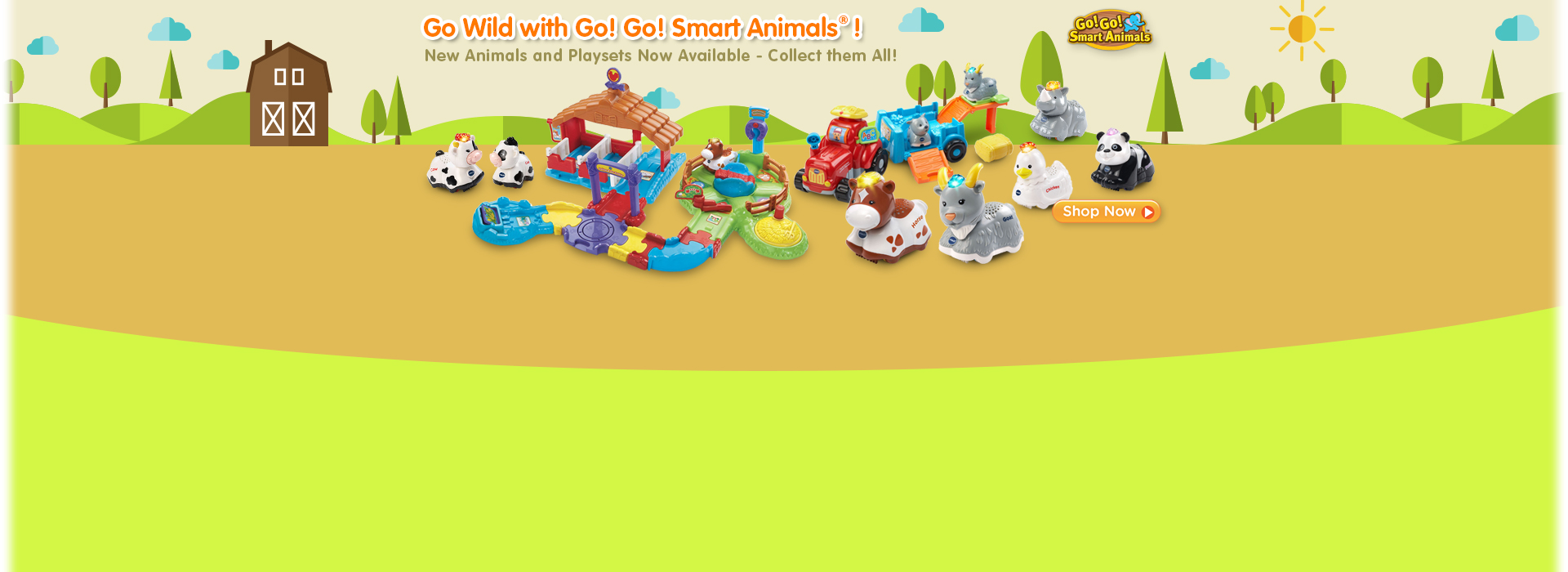 New Go! Go! Smart Animals Available!