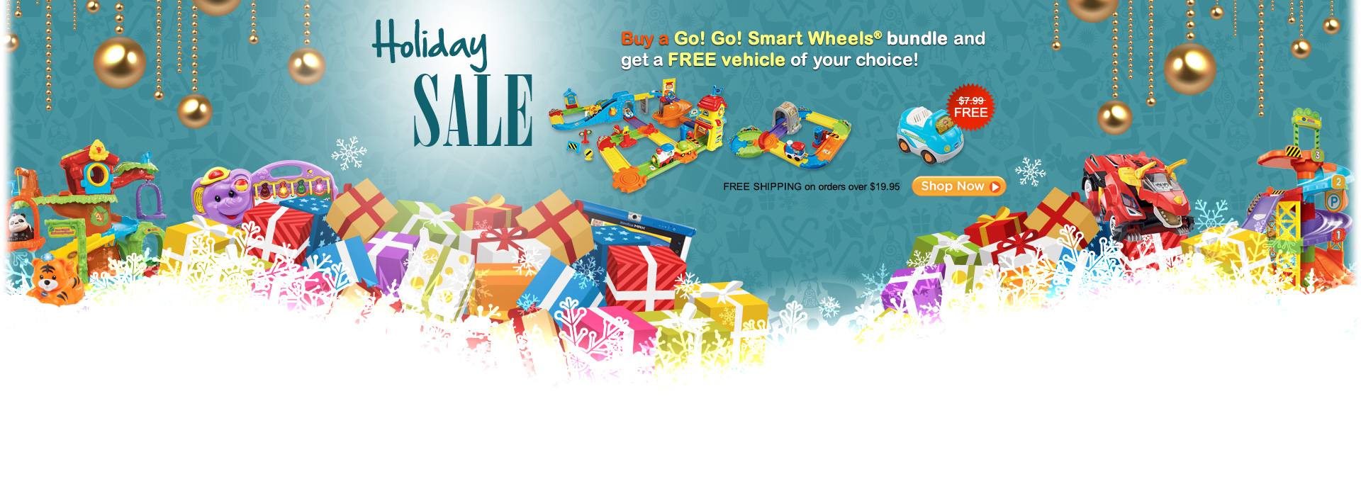 Thanksgiving SALE - Buy a Go! Go! Smart Wheels bundle and get a FREE vehicle of your choice