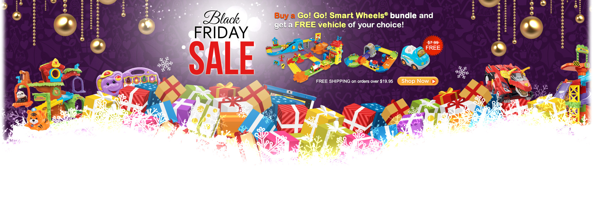 Black Friday Sale - Buy a Go! Go! Smart Wheels bundle and get a FREE vehicle of your choice