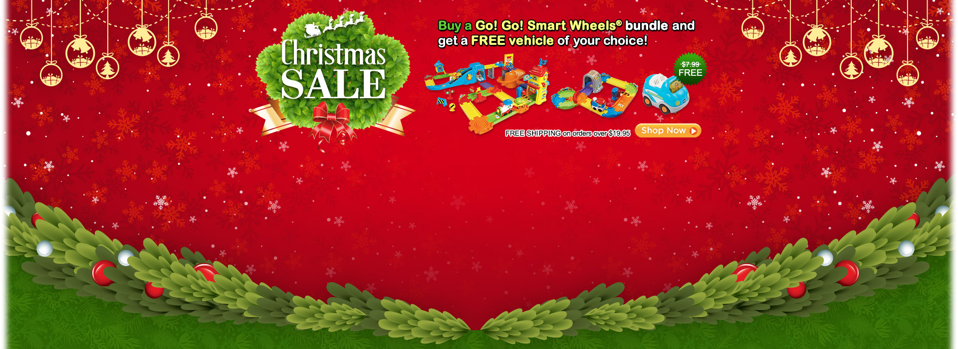 Christmas Sale - Buy a Go! Go! Smart Wheels bundle and get a FREE vehicle of your choice