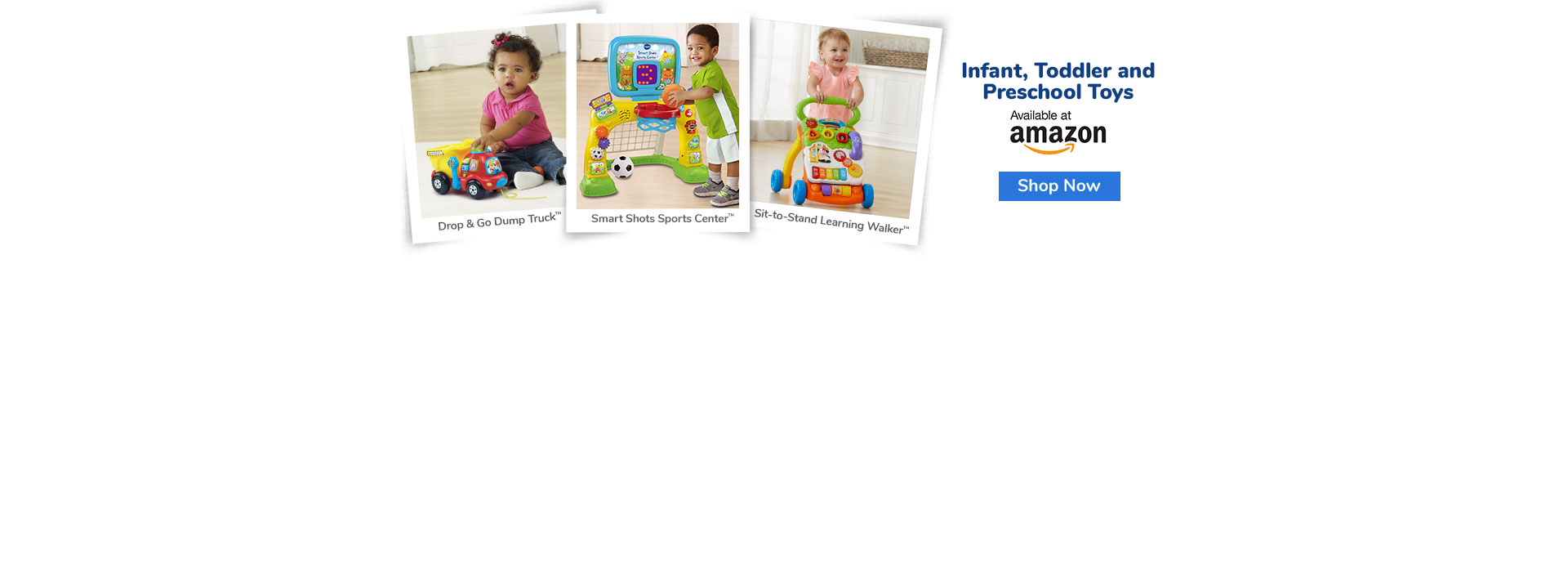 Infant, Toddler and Preschool Toys - available at Amazon