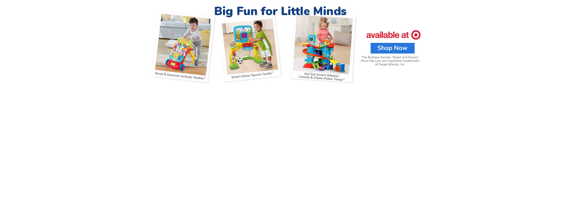 New Learning Toys Available at Target
