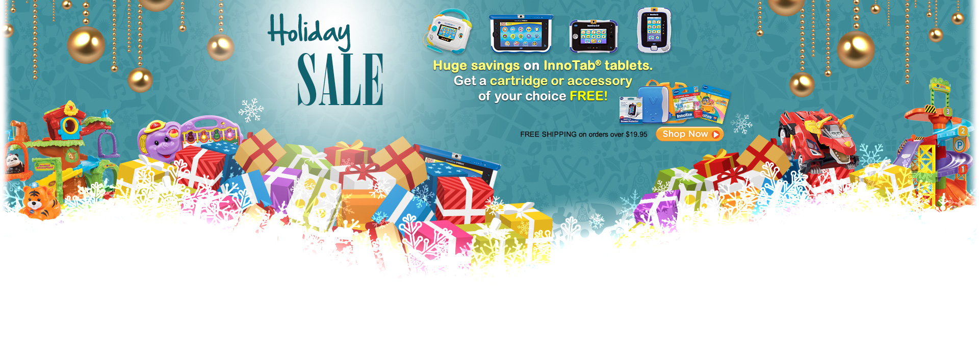 Thanksgiving SALE - Hung savings on InnoTab tablets.