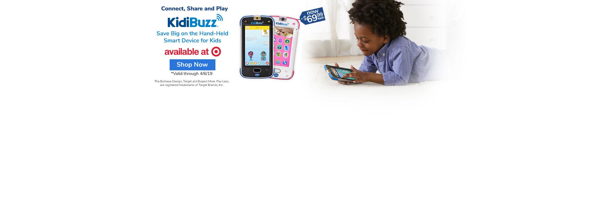 KidiBuzz at Target   Shop Now
