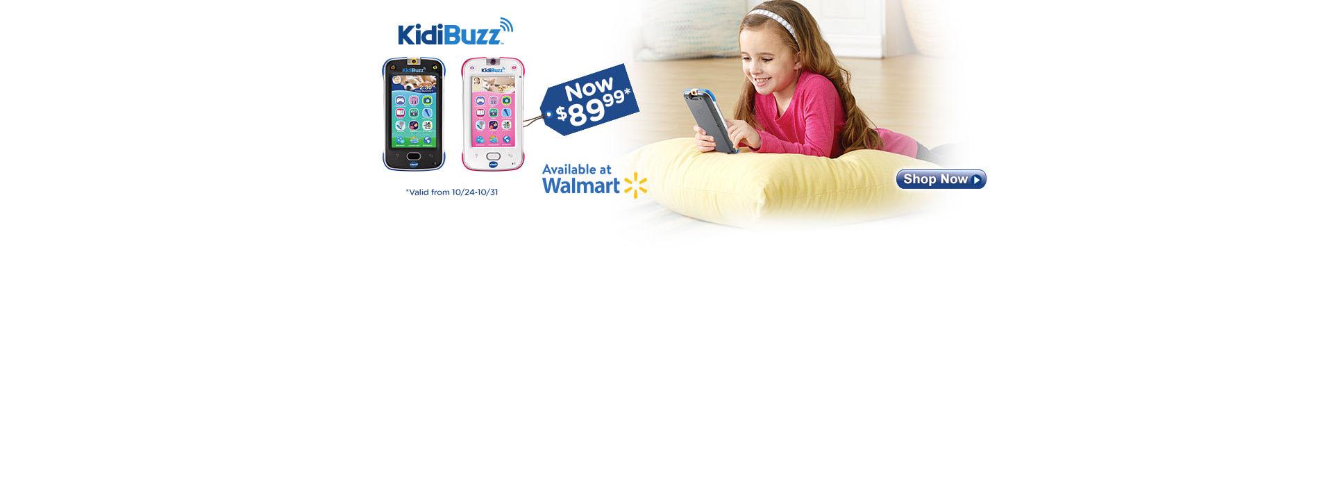 KidiBuzz $89.99 - Walmart