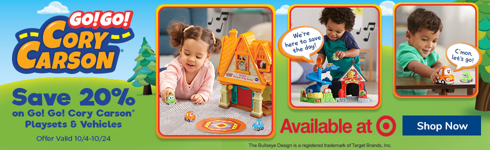 Go! Go! Cory Carson Playsets and Character Vehicles 20% off at Target