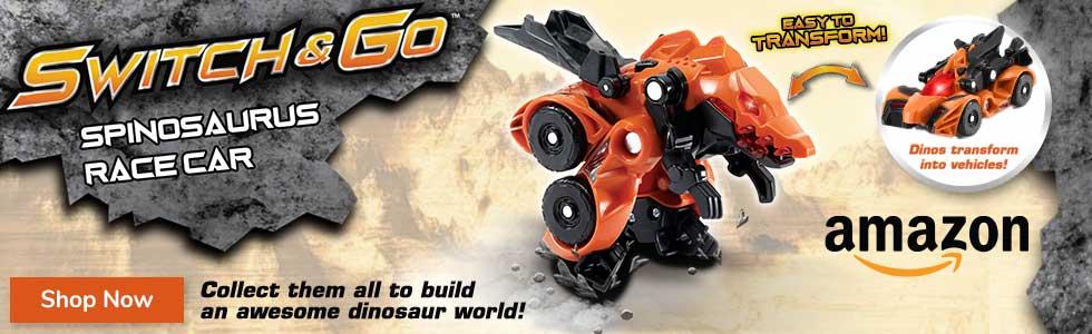 Switch & Go Dinos  - Buy now at Amazon