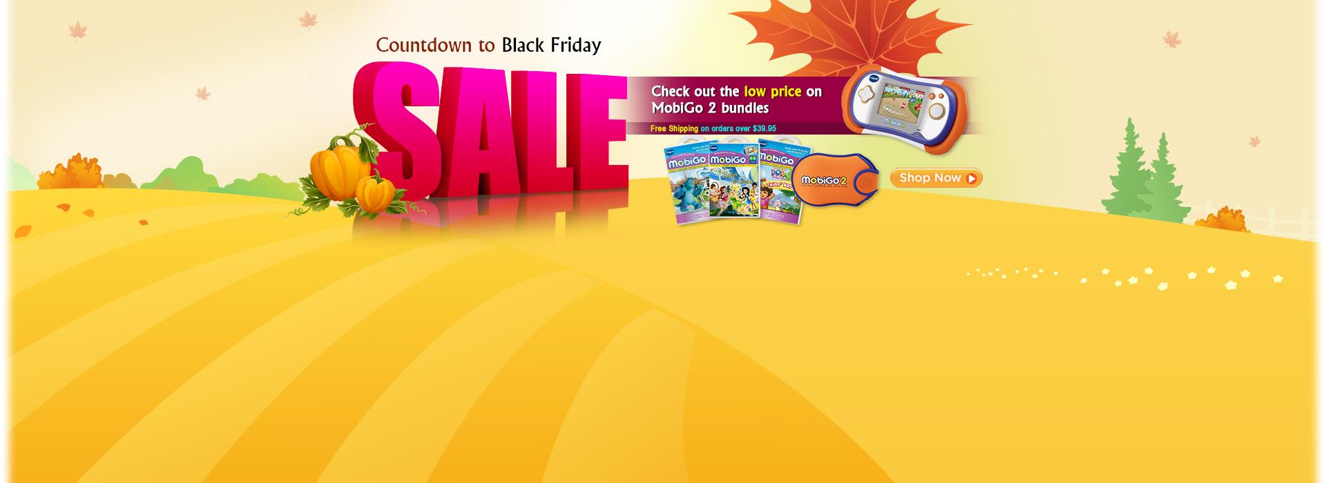 Countdown to Black Friday Sale - MobiGo Deals