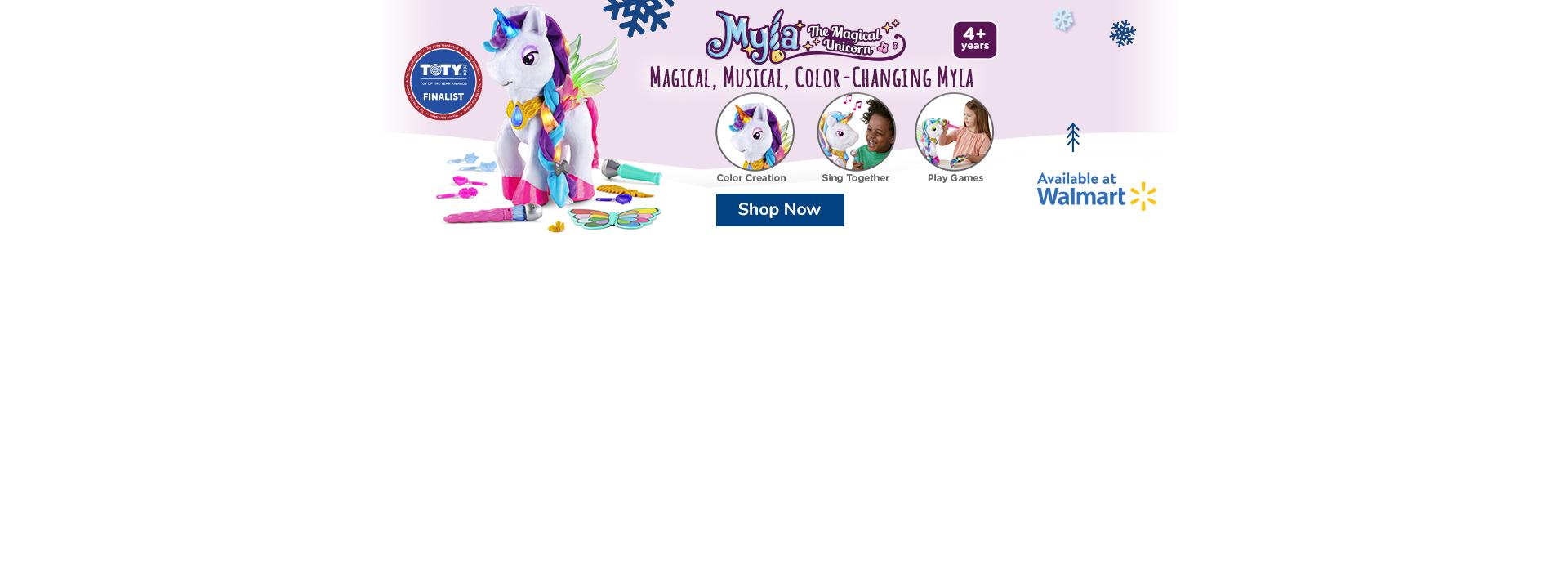 Myla - The Magical Unicorn - Buy Now at Walmart