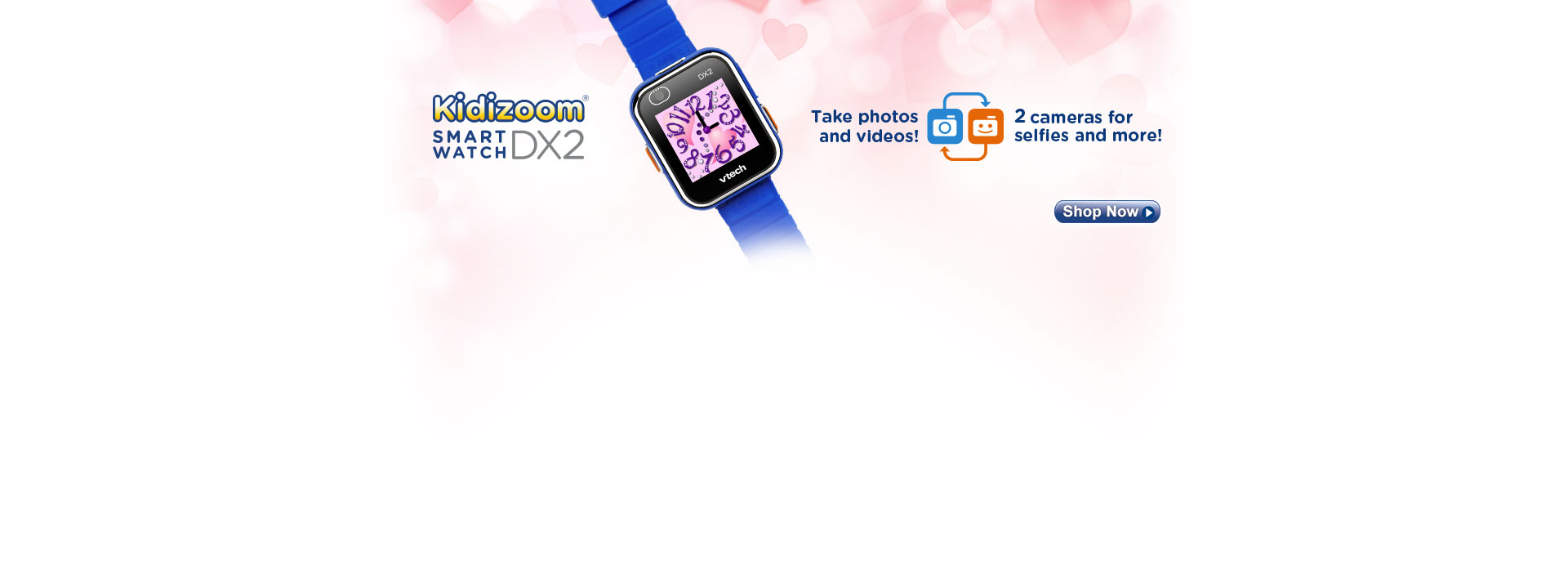 The perfect tech for kids. Shop all Kidizoom Smartwatch DX2 by VTech