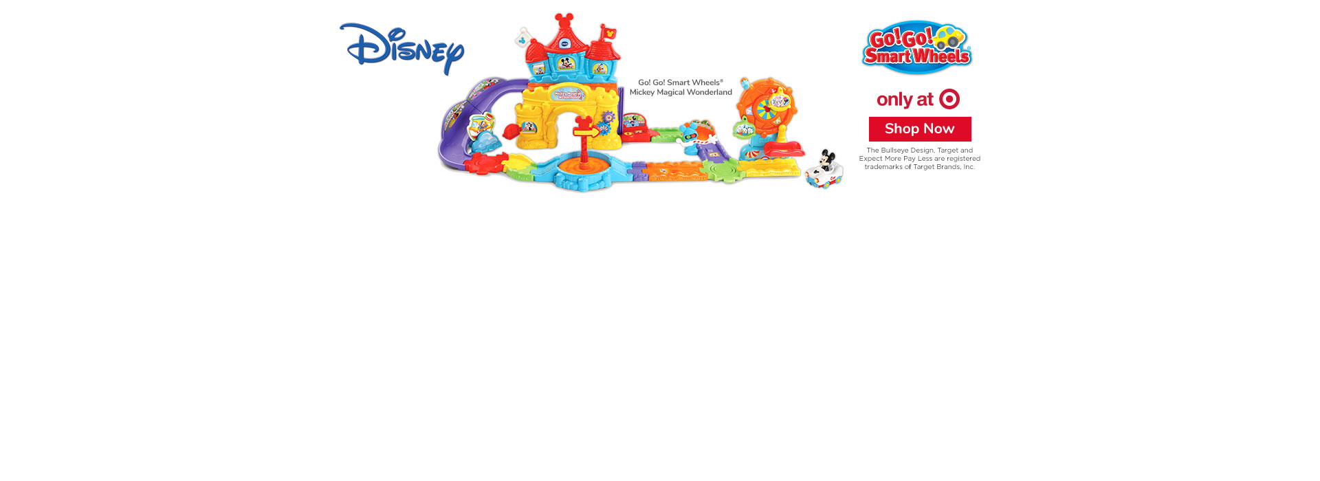 Go! Go! Smart Wheels Disney Mickey Magical Wonderland - Exclusively at Target