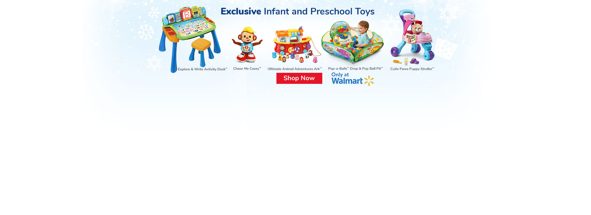 Exclusive Infant and Preschool Toys at Walmart