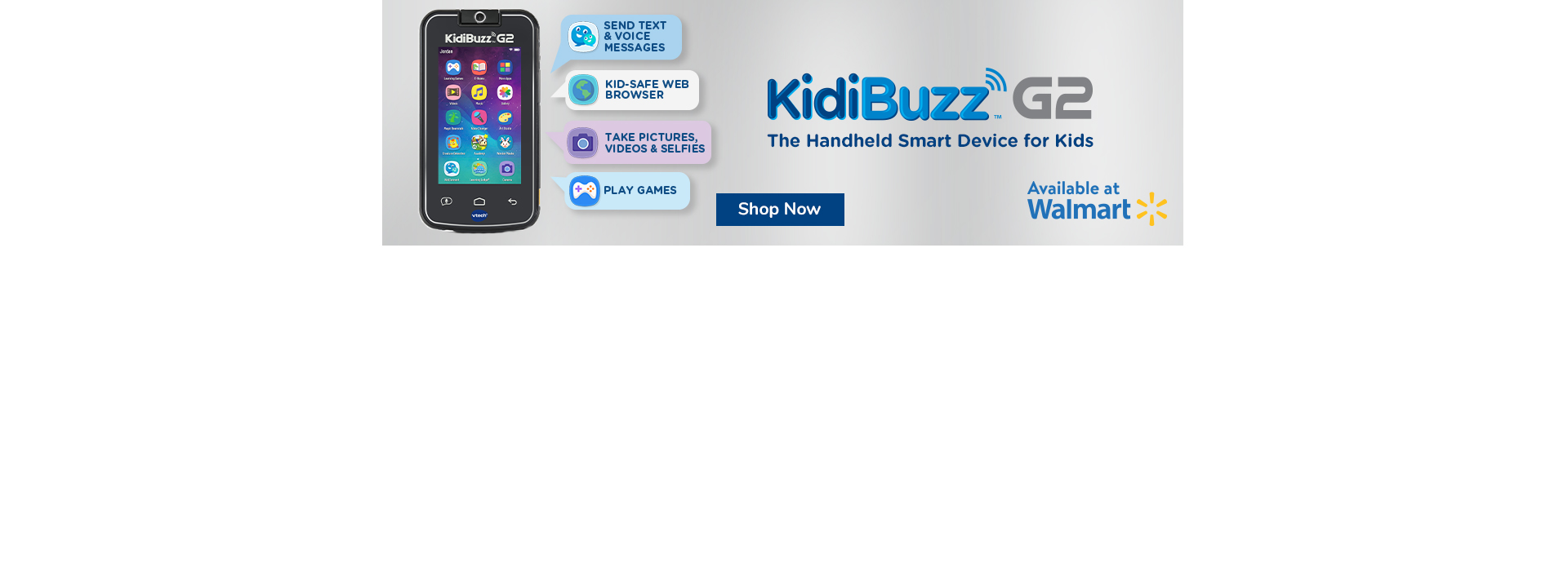 KidiBuzz G2 - Buy Now at Walmart