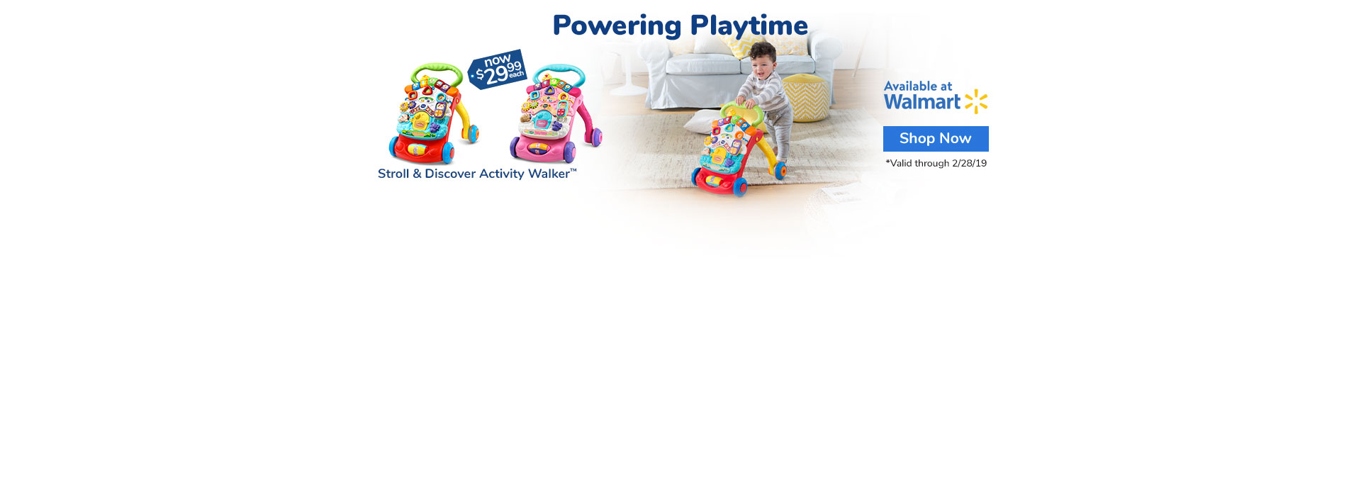 Stroll & Discover Activity Walker | Buy Now at Walmart