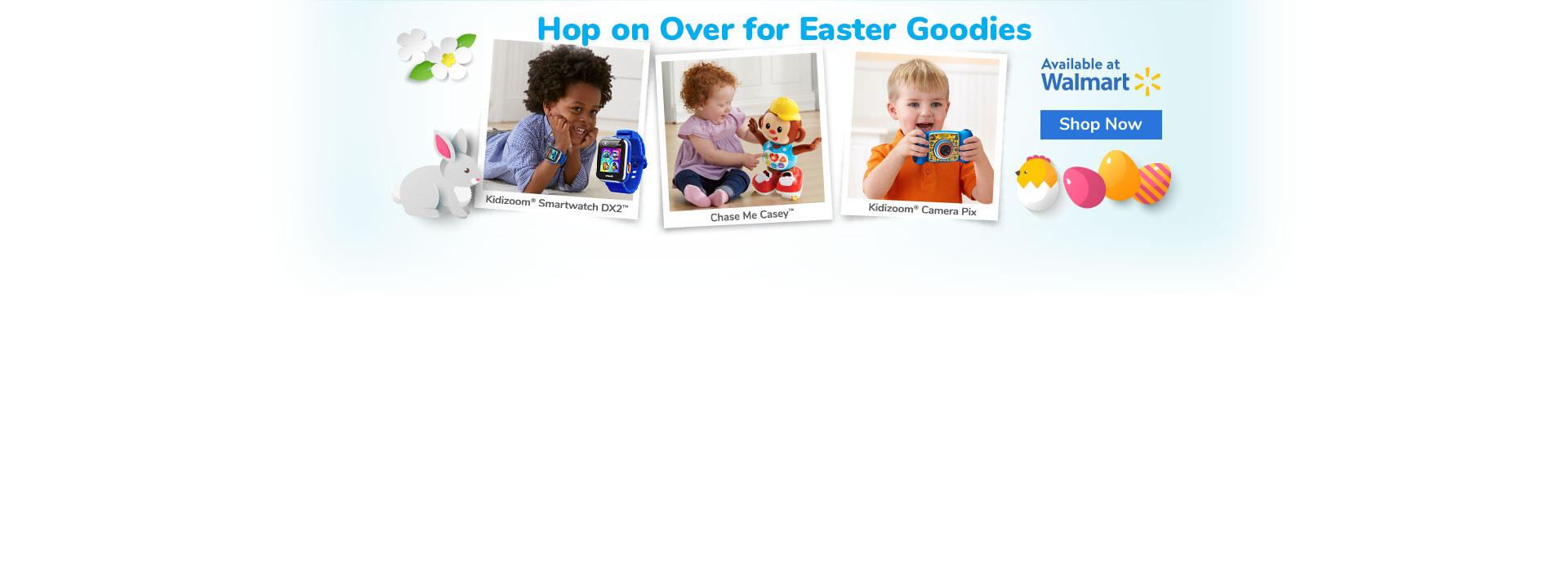 Get Hopping this Easter with VTech Toys | Buy Now at Walmart