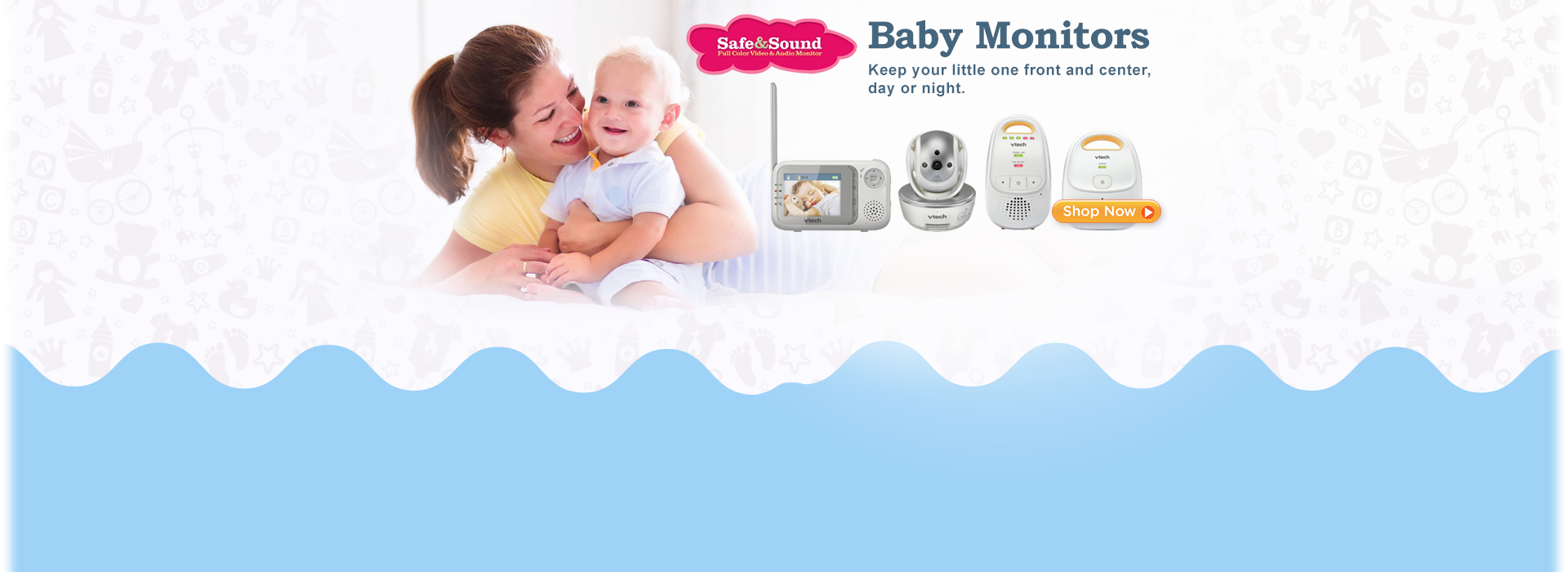 Baby Monitor - Keep your little one front and center, day or night